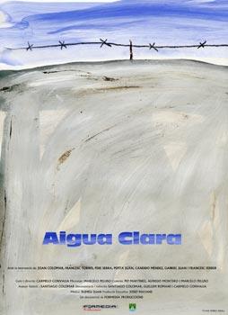 Cartell Aigua Clara